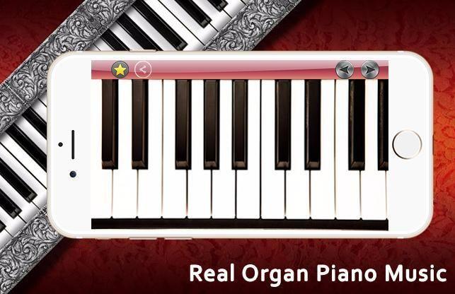 Real Organ Piano Music 5 تصوير الشاشة