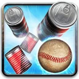Tin Can Smasher – Hit And Knockdown Ball Throwing