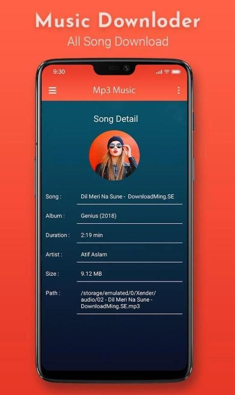 Mp3 Song Download - Free Music Download App screenshot 1