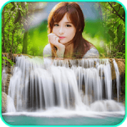 Waterfall Frame Collage أيقونة