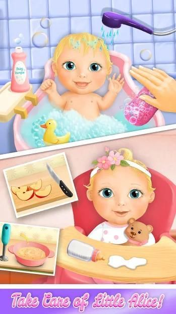 Sweet Baby Girl Doll House - Play, Care & Bed Time स्क्रीनशॉट 26