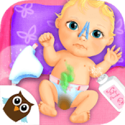 Sweet Baby Girl Doll House - Play, Care & Bed Time आइकन
