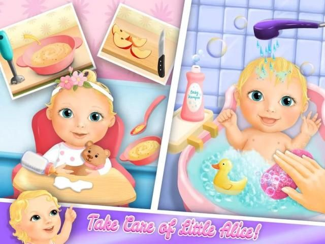 Sweet Baby Girl Doll House - Play, Care & Bed Time स्क्रीनशॉट 9