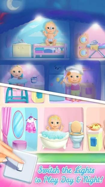 Sweet Baby Girl Doll House - Play, Care & Bed Time स्क्रीनशॉट 28