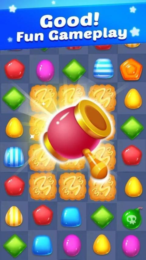 Candy plus: Match 3 puzzle adventure screenshot 1