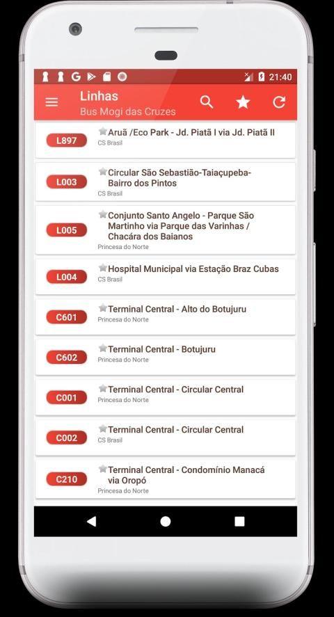 Horário Bus Mogi da Cruzes screenshot 4