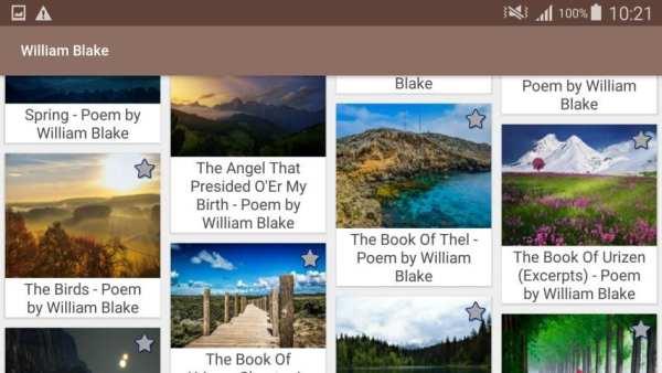 William Blake Poems screenshot 7