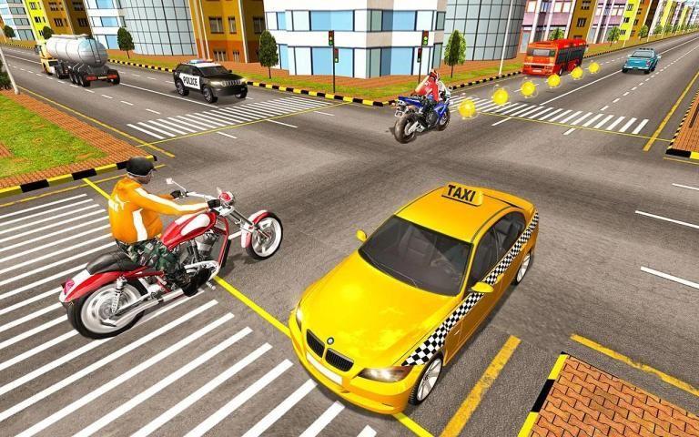 Bike Attack Race : Highway Tricky Stunt Rider स्क्रीनशॉट 9