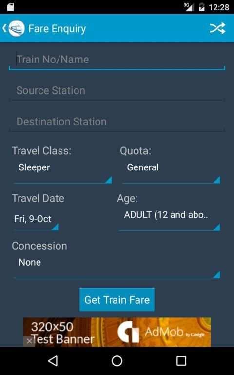 Indian Rail Train Status screenshot 20