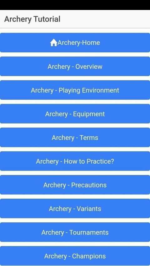 Archery Learn Beginners screenshot 2