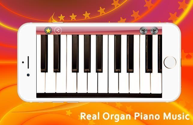 Real Organ Piano Music 4 تصوير الشاشة