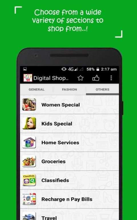 Online shopping apps India new screenshot 2