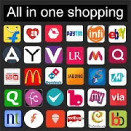 Online shopping apps India new icon