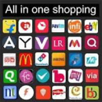Online shopping apps India new أيقونة