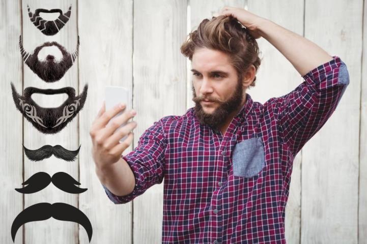 Beard Photo Editor - Beard Cam Online screenshot 2