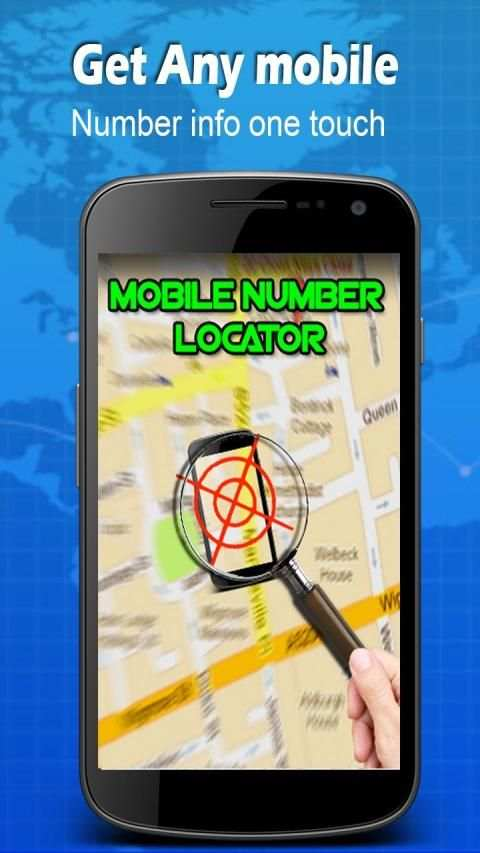 Mobile Number Locator screenshot 1