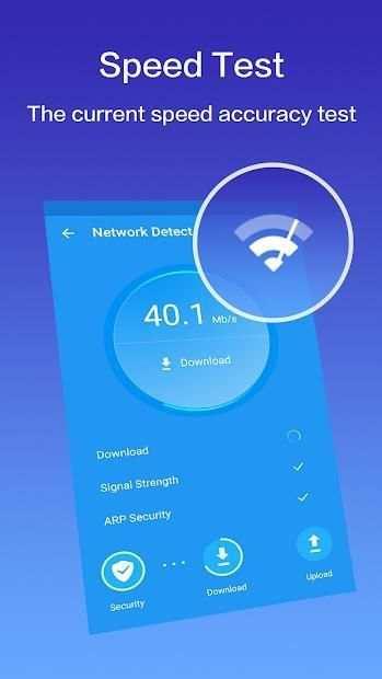 Network Booster - Speed & Security screenshot 1
