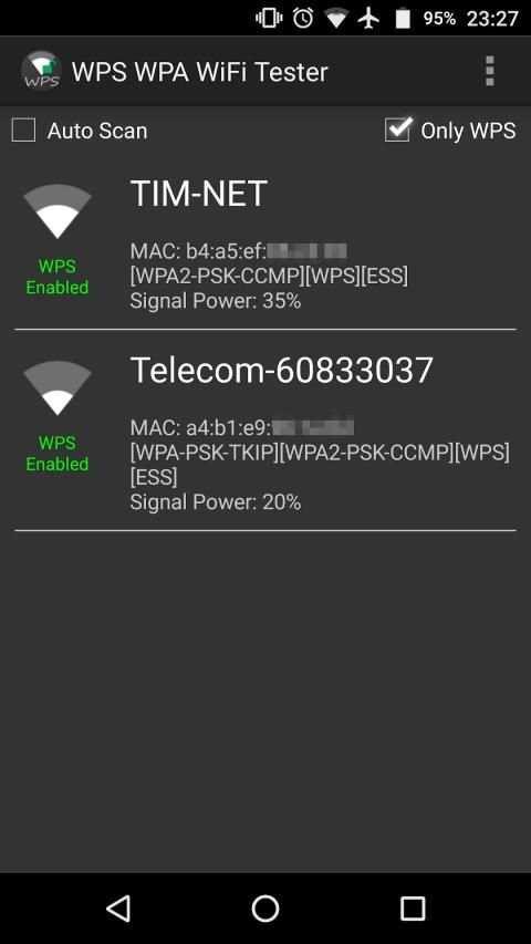 WPS WPA WiFi Tester (No Root) screenshot 5