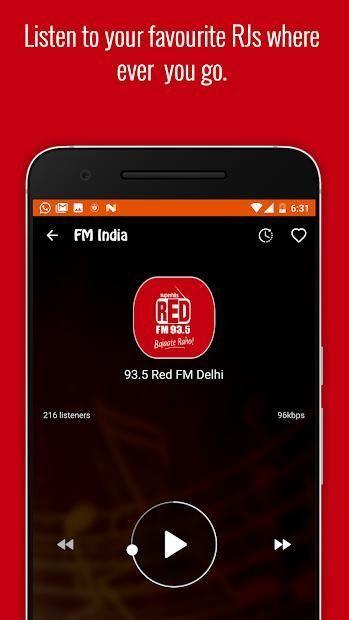 FM Radio India - Live Stations 14 تصوير الشاشة