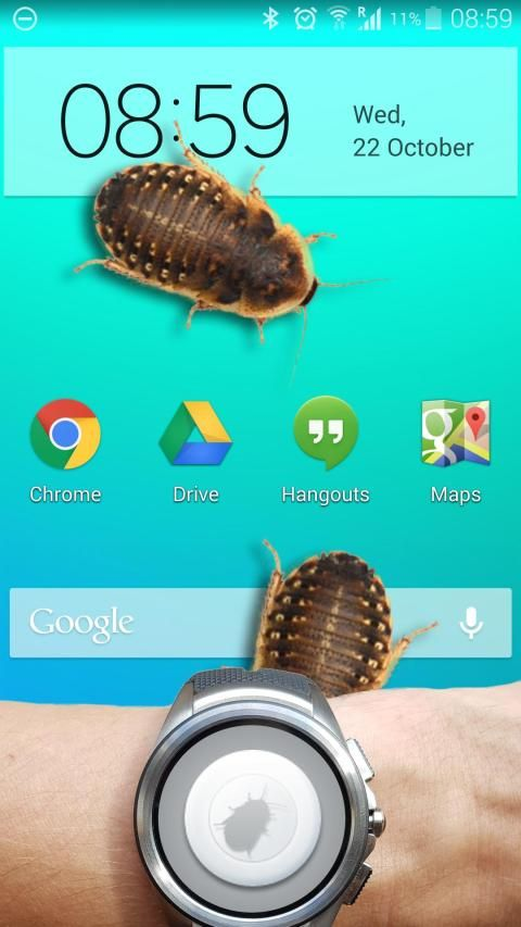 Bug in Phone funny joke 3 تصوير الشاشة