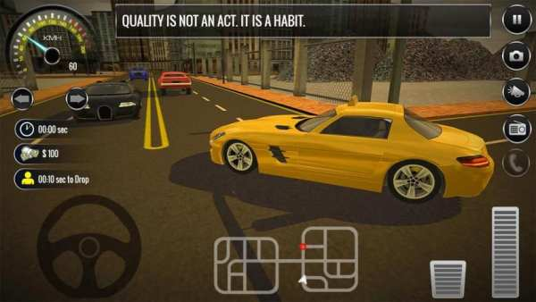 New York City Taxi Driving: Taxi Games 2018 screenshot 5