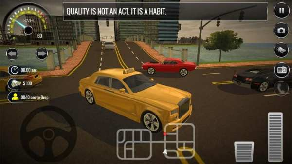 New York City Taxi Driving: Taxi Games 2018 screenshot 2