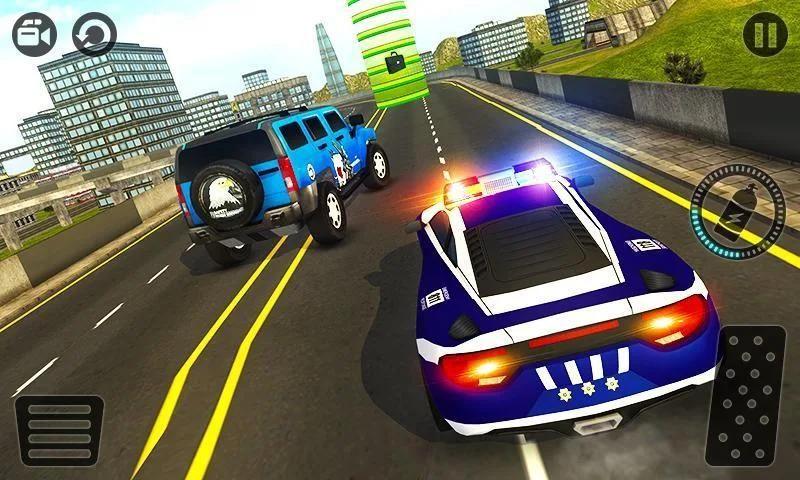 Police Chase Prado Escape Plan स्क्रीनशॉट 12