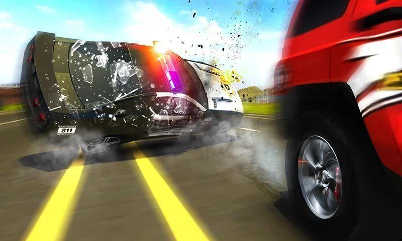 Police Chase Prado Escape Plan स्क्रीनशॉट 13
