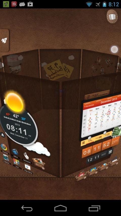 TSF Launcher 3D Shell screenshot 4