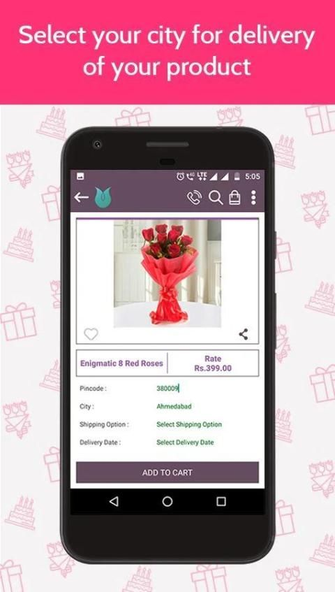 Flowers Cakes Online: Gifts Delivery screenshot 6