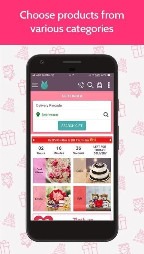 Flowers Cakes Online: Gifts Delivery screenshot 8