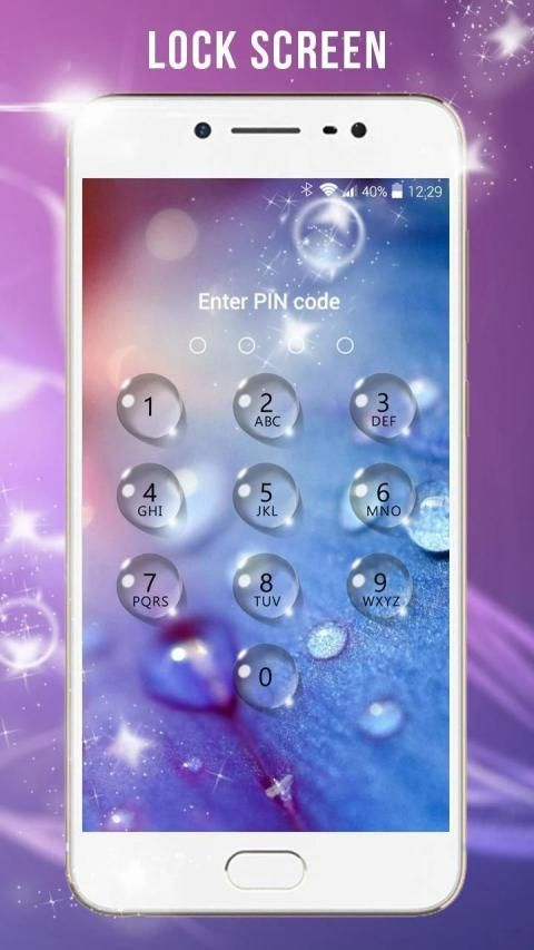 keypad lock screen screenshot 12