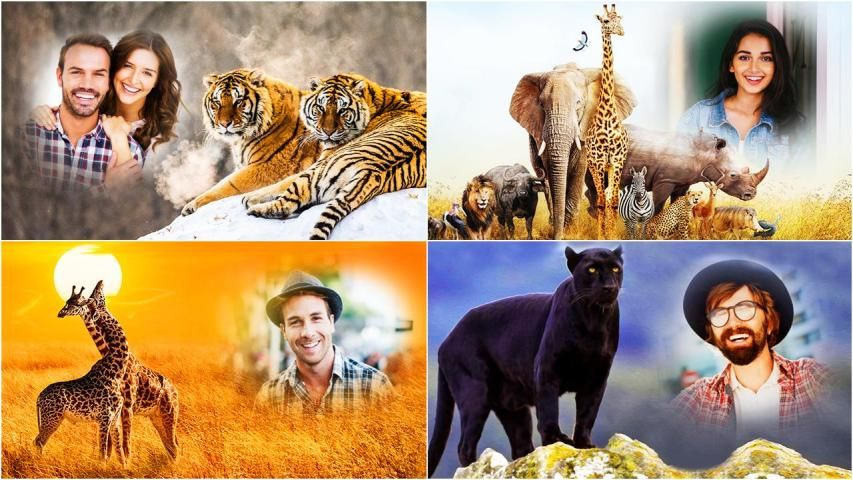 Wild Animal Photo Editor : Wild Animal Photo Frame screenshot 12