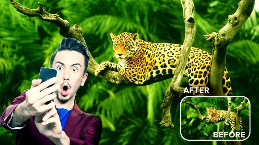 Wild Animal Photo Editor : Wild Animal Photo Frame screenshot 14