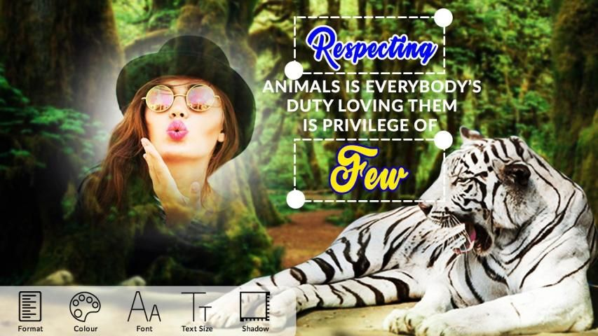 Wild Animal Photo Editor : Wild Animal Photo Frame screenshot 7