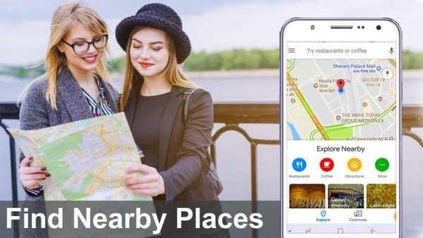 GPS Maps, Voice Navigation & Traffic Road Map screenshot 1