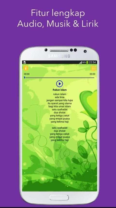 Lagu Anak Anak Islami 4 تصوير الشاشة