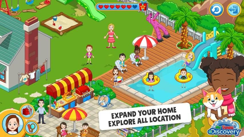 My Town : Discovery Pretend Play स्क्रीनशॉट 4