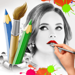 Photo to Painting Poster & Pencil Sketch drawing icon