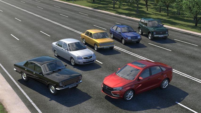 Driving Zone: Russia screenshot 9