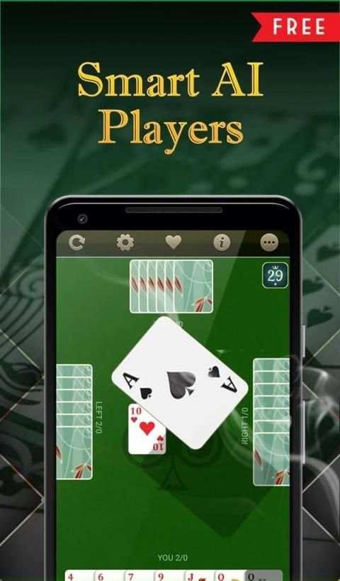 Call Bridge Card Game - Spades screenshot 2