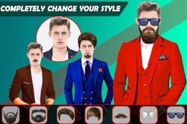 Smart men suits - picture editor 2018 screenshot 2