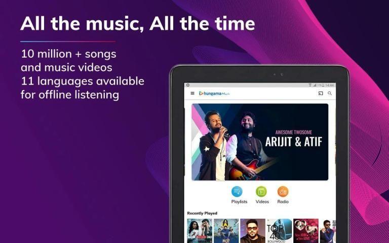 हंगामा संगीत - गीत और वीडियो स्क्रीनशॉट 6
