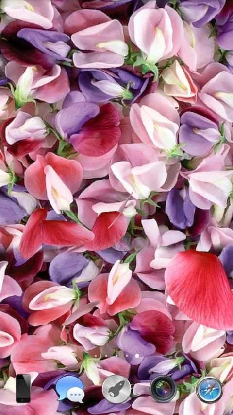 Petals 3D live wallpaper screenshot 9