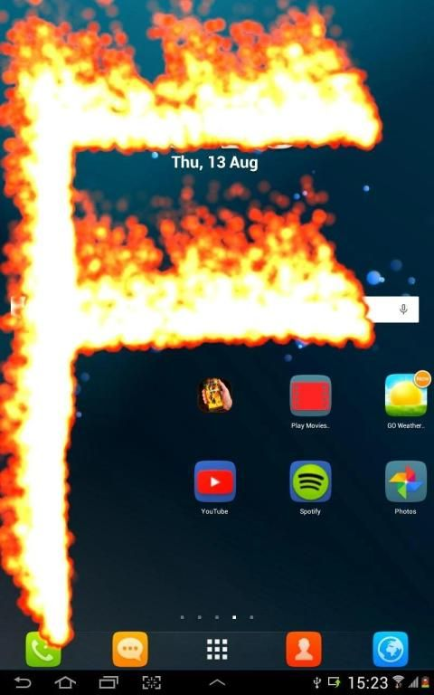 Fire Phone Screen simulator 10 تصوير الشاشة