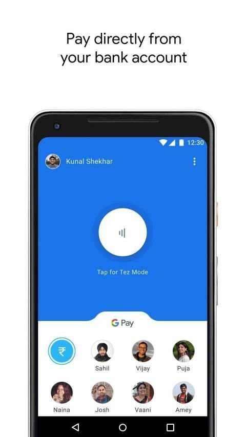 Google Pay (Tez) - a simple and secure payment app screenshot 1