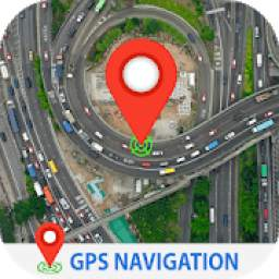 GPS Navigation Live Satellite View Earth Maps