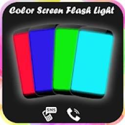 True Color Screen Flashlight : HD Torch Light 2019