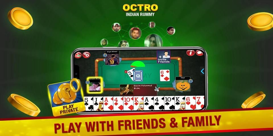 Indian Rummy (13 & 21 Cards) by Octro स्क्रीनशॉट 16