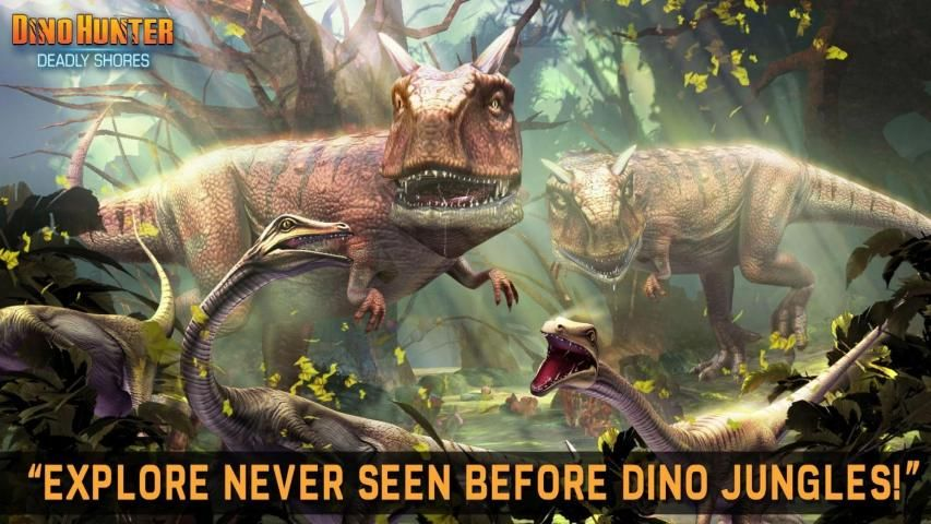 DINO HUNTER: DEADLY SHORES screenshot 2